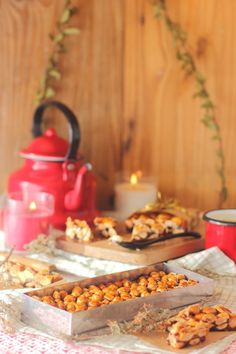 Receta de Turrón de Guirlache - Megasilvita Cereal, Vegetables, Breakfast, Food, Goodies, Sweets, Postres, Nougat Recipe, Homemade