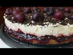 Εύκολο cheesecake κεράσι αλλιώς!!! - YouTube Tiramisu, Cheesecake, Ethnic Recipes, Desserts, Food, Youtube, Tailgate Desserts, Deserts, Cheesecakes