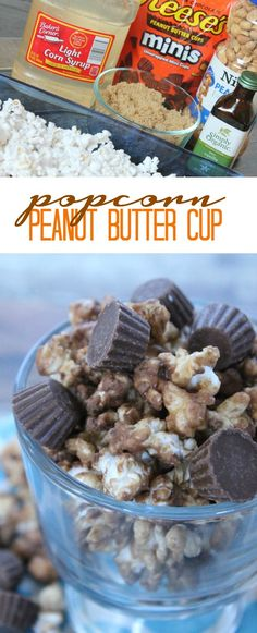 Reese's Popcorn Recipe for Christmas or the Holidays! Easy Dessert or Food Gift Recipe for any occasion!