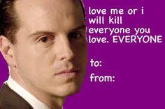sherlock valentines day cards micheal