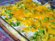 Sausage and Egg Brunch Enchiladas