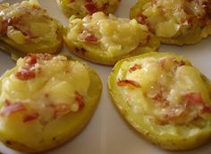 Patatas rellenas (microondas) - CukiRecetas