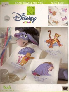 Winnie the Pooh Pooh Towels for You 1/2