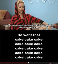 Rihanna is so deep...