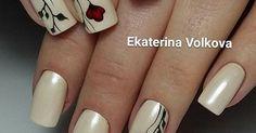 Автор - @nogti_volkova1988 _ Хочешь ещё больше красивых ногтей? Подписывайся @runogti @nailsbycambia @vipnogotki | Εργασίες που θέλω να κάνω | Pinterest | Mani…