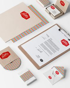 Sanders Corporate Identity by Matt Vergotis