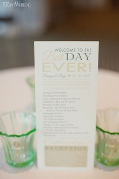 Rustic natural wedding stationery! Welcome to the best day ever! RUSTIC BLUSH BARN WEDDING www.elegantwedding.ca