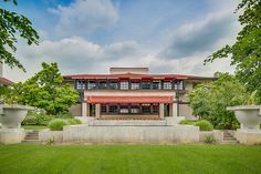 Frank Lloyd Wright designed the Westcott House in Springfield, OH