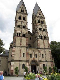 Basilica of St. Castor of Karden in Koblenz, Germany