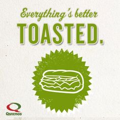 GoWaiter Shreveport delivers  Quiznos to your Home or Office. For a Snack, Lunch or Dinner try your next Sandwich Toasted