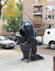 Angler Fish Costume #halloween #fish #deep_sea