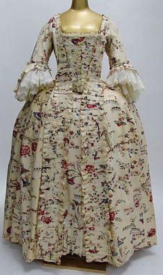 1770s French Dress