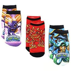 25225bdb28 Skylanders Swap Force Boys 3 pack Sublimation Socks Clothing Websites,  Clothing Labels, Clothing Patterns