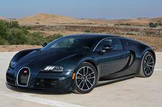 Bugatti Veyron Super Sport Car