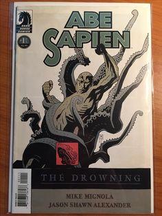 Abe Sapien The Drowning #1 - February 2008 - Dark Horse