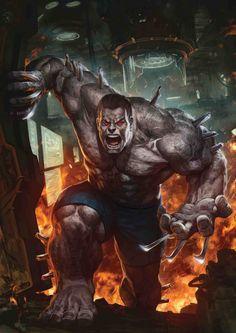 Hulk Wolverine