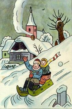 I remember the fun I had sled riding when I was young