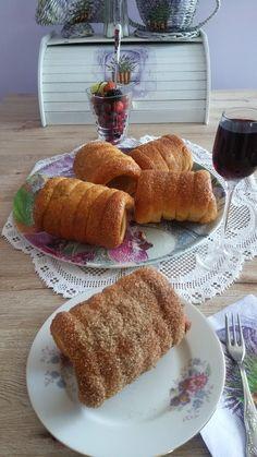 Helenkine dobroty - Trdelník nemiesený kváskový Sweet Life, French Toast, Food And Drink, Sweets, Baking, Breakfast, Cake, Buns, Breads