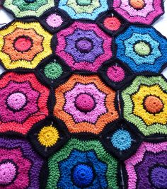how to crochet a half octogon - Google Search