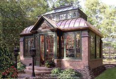 This little structure was built as a conservatory that serves as a retreat off the main house. It has a stone fireplace, a wet bar, and a spa as well as a formal seating area. But with it's…