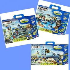 KRE-O CITYVILLE INVASION Giveaway - $85 worth of building bricks, compatible with Legos!