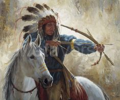 Trademark Fine Art 'The Guardian And Horse' Canvas Art by James Ayers, Size: 24 x Black Canvas Wall Art, Canvas Prints, Art Prints, Big Canvas, Framed Prints, Canvas Paintings, Native American Paintings, The Guardian, Female Art