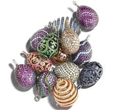 Fabergé egg pendants