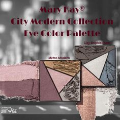 New Mary Kay City Modern Collection Eye Color Palette! http://www.marykay.com/LaShon