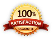 Lawn care service with a hundred percent satisfaction guarantee!