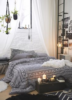 Dreamy Boho Bedroom Daily Dream Decor Boho Bedrooms And Room throughout measurements 975 X 1463 Bohemian Bedroom Decorating - An individual may also purchase exclusive and one of a kind […] Dream Rooms, Dream Bedroom, Home Bedroom, Bedroom Ideas, Bedroom Designs, Headboard Ideas, Bedroom Furniture, Bedroom Themes, Warm Bedroom