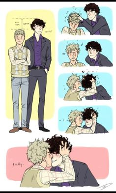 That's just cute-johnlock