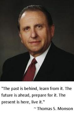 Thomas S. Monson President and Prophet of The Church Of Jesus Christ of Latter Day Saints