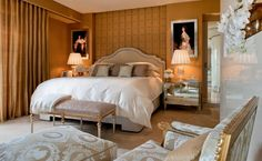 The penthouse at the Four Seasons George V Paris