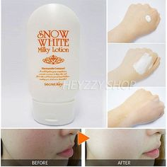 cool Secret Key Snow White Milky Lotion 120g Instant brightening whitening Korean - For Sale