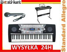 Profesjonalne Organy Keyboard MK-2061   MIKROFON