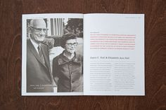 Hall Family Foundation Annual Report on Behance