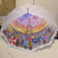 Cute Umbrellas, Umbrellas Parasols, Decoupage, Home Decor, Umbrellas, Decoration Home, Room Decor, Home Interior Design, Home Decoration