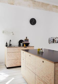 How to create a stunning plywood kitchen - BODIE and FOU