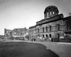 Custom house bombed Liverpool Town, Customs House, The Blitz, Old Photos, Ww2, Beautiful Places, England, World, Building