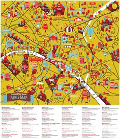 Paris Map-For my gallery wall!