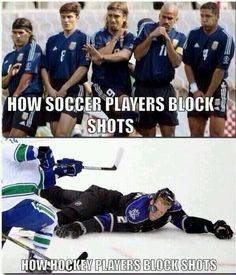 I love soccer, but seriously..