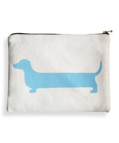 Look at this Dachshund Cosmetic Bag on #zulily today!
