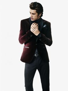 Vinnie Woolston is Sophisticated Cool for H Winter 2012