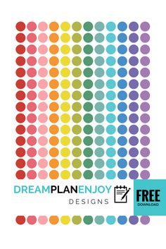 FREE Circle PlannerStickers