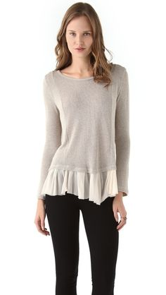 Clu Metallic Sweater - GET THIS LOOK NOW ONLY AT www.shopbop.com/?extid=affprg-7101999