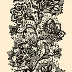 European lace pattern 02, Clip Arts - Clipart.me