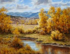 """September Gold,"" original oil painting, 16x20, Available at Rich Timmons Studio & Gallery, 3795gallery.com"