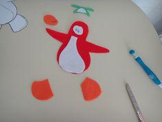 El taller de Naidú: Un pingüino en mi camiseta.