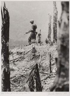 "1972 Pulitzer Prize for Feature Photography ""Lone Soldier, A Shau Valley"" by David Hume Kennerly, April 27, 1971"