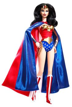 Wonder Woman Barbie Doll. I love it.